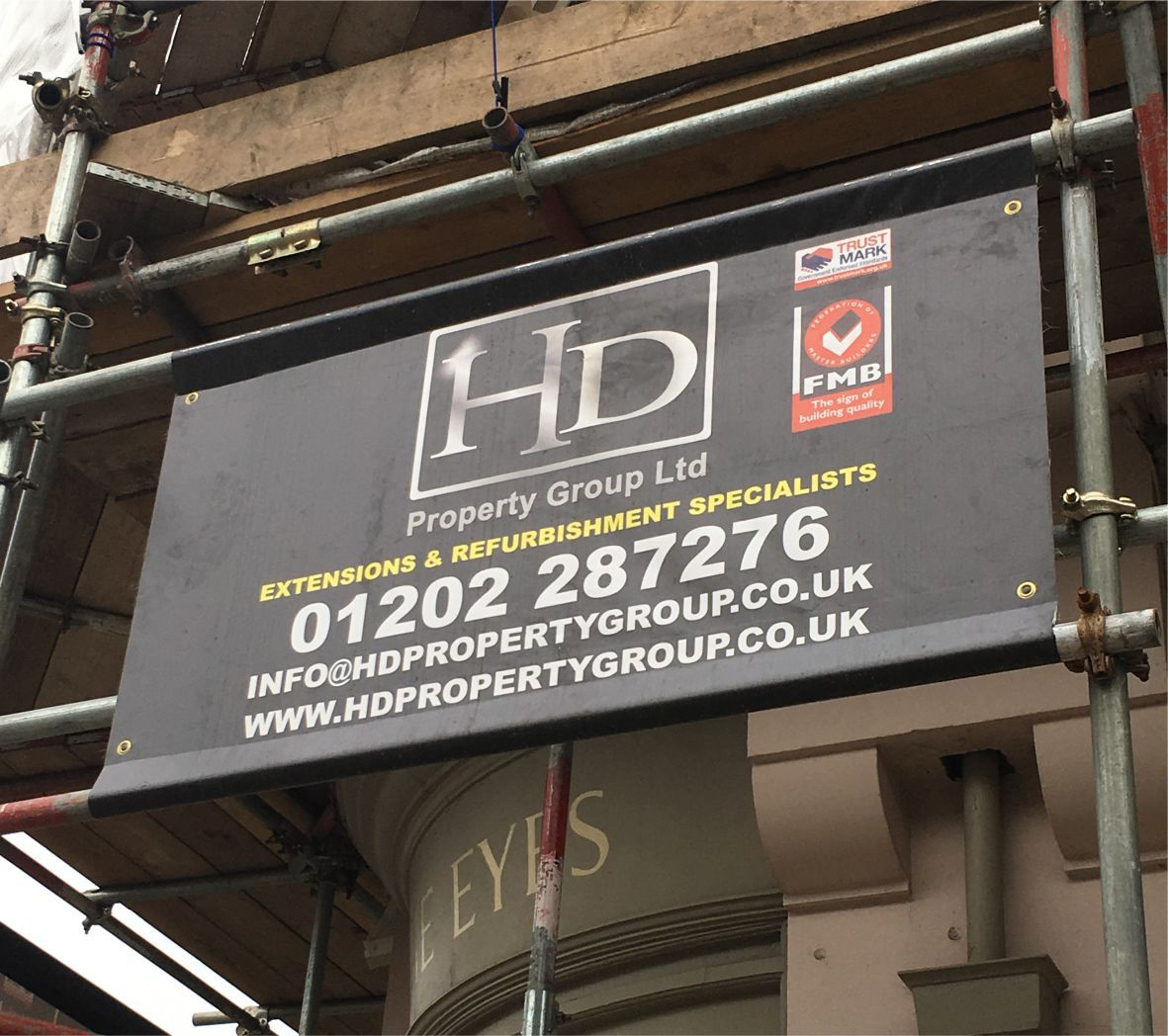 Scaffolding Banners image