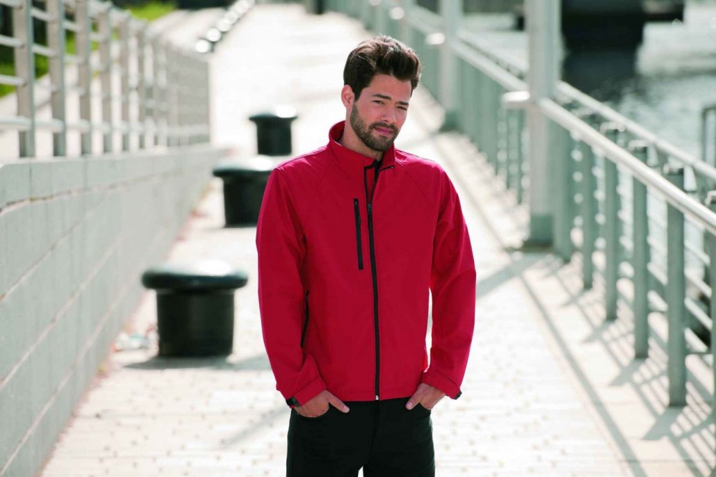 Image 1 of Russell Soft Shell Jacket