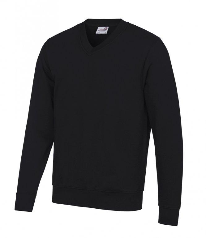 Image 1 of AWDis Academy V Neck Sweatshirt