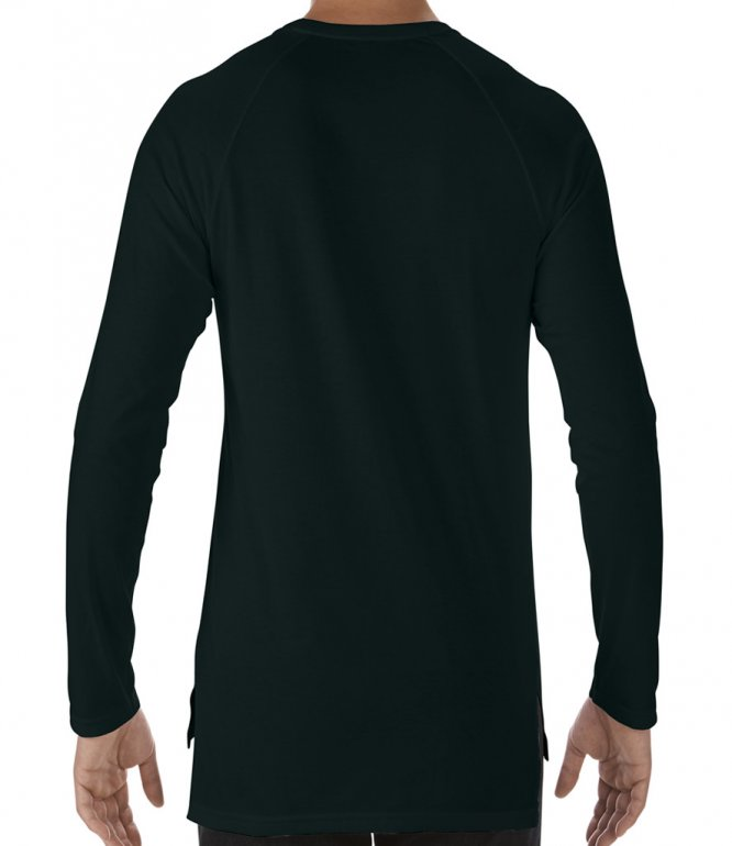 Image 1 of Anvil Unisex Lightweight Long Sleeve Long & Lean T-Shirt