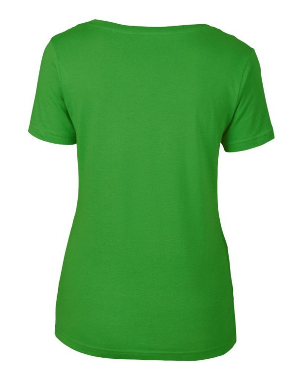 Image 1 of Anvil Ladies Featherweight Scoop Neck T-Shirt