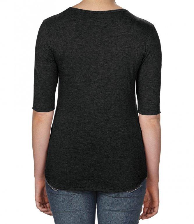 Image 1 of Anvil Ladies Tri-Blend 1/2 Sleeve T-Shirt