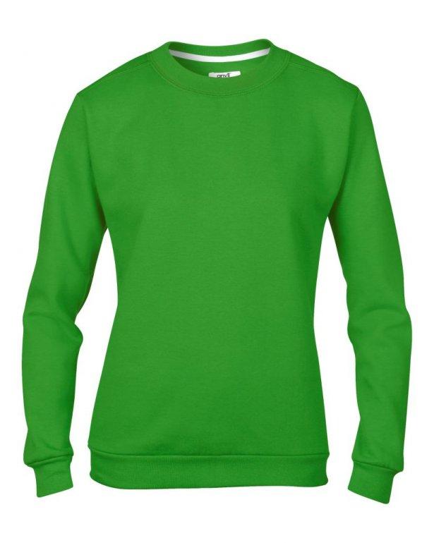 Image 1 of Anvil Ladies Crew Neck Sweatshirt