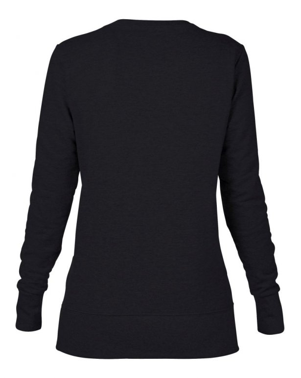 Image 1 of Anvil Ladies French Terry Drop Shoulder Sweatshirt