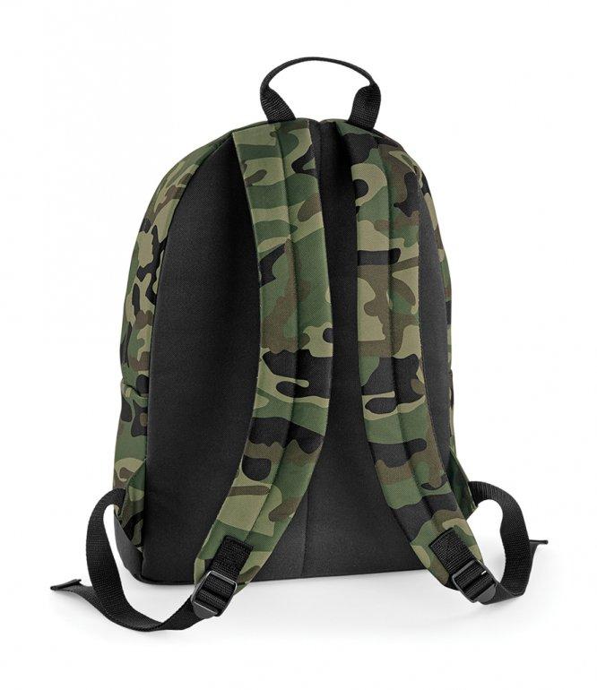 Image 1 of BagBase Camo Backpack