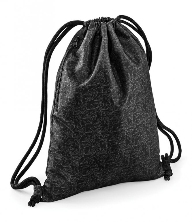 Image 1 of BagBase Graphic Drawstring Backpack