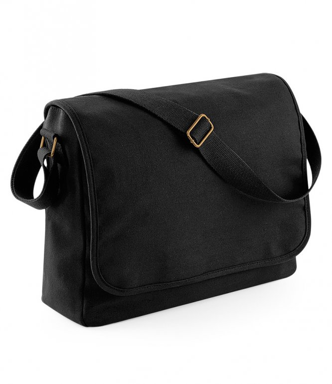 Image 1 of BagBase Classic Canvas Messenger