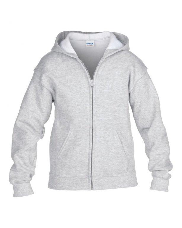 Image 1 of Gildan Kids Heavy Blend™ Zip Hooded Sweatshirt