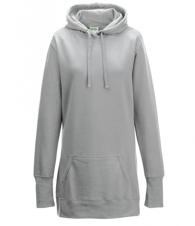 Image 1 of AWDis Girlie Long Line Hoodie