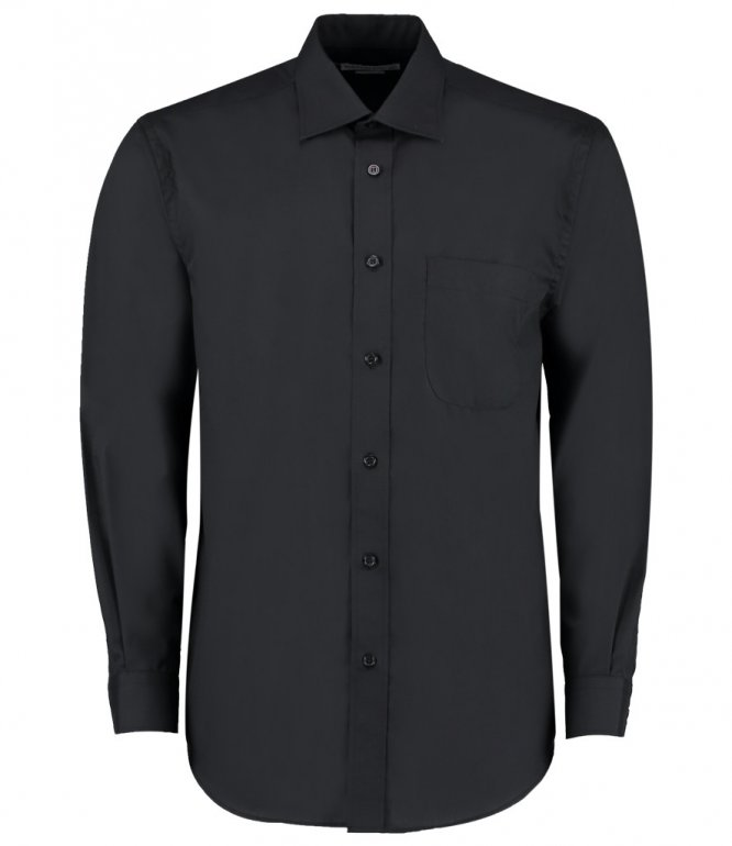 Image 1 of Kustom Kit Long Sleeve Business Shirt