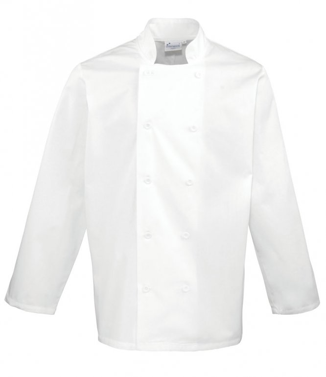 Image 1 of Premier Long Sleeve Chef's Jacket