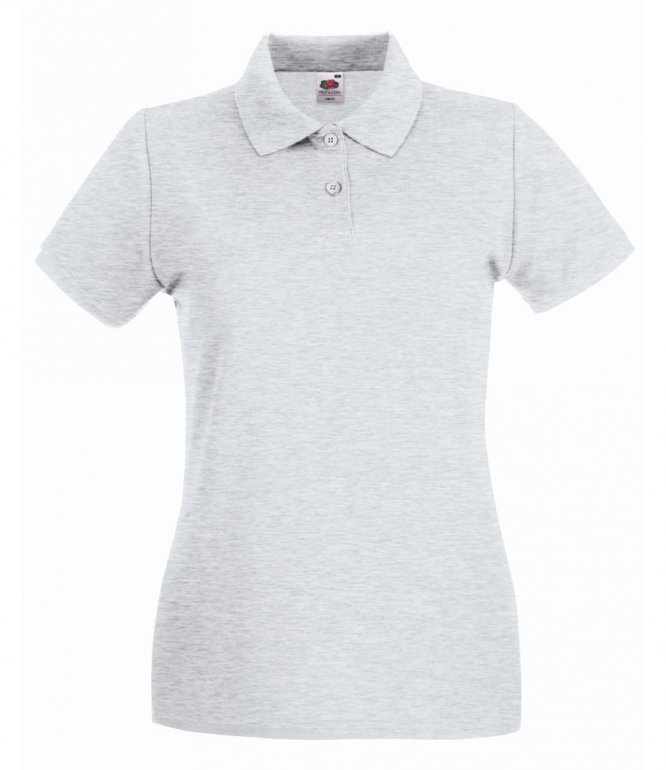 Image 1 of Fruit of the Loom Lady-Fit Premium Cotton Piqué Polo Shirt