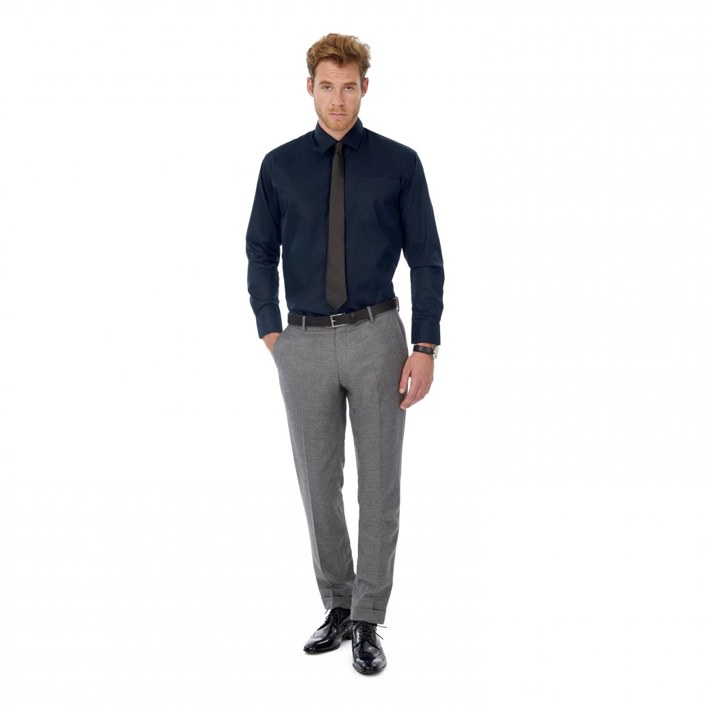 Image 1 of B&C Sharp long sleeve /men
