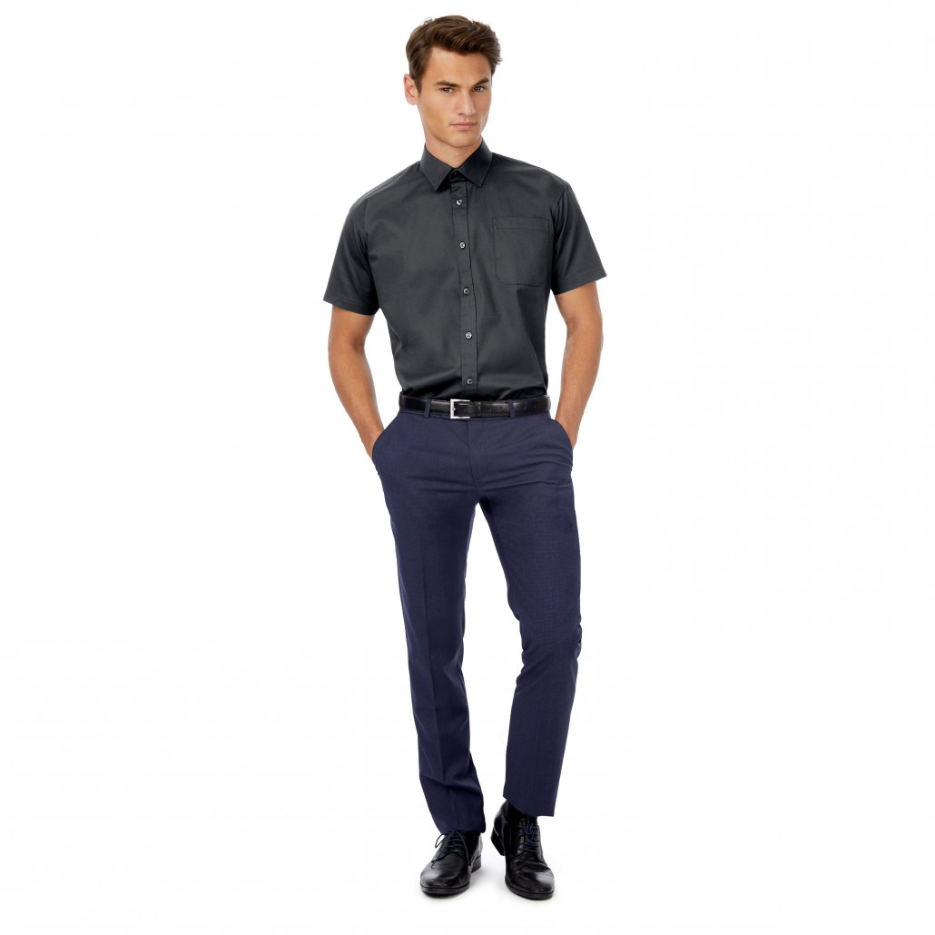 Image 1 of B&C Sharp short sleeve /men