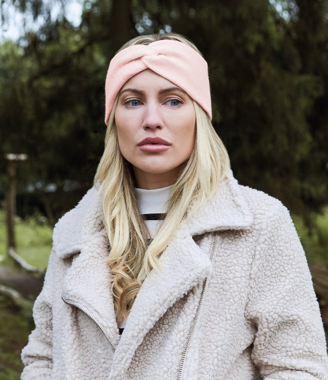 Image 1 of Beechfield Twist Knit Headband