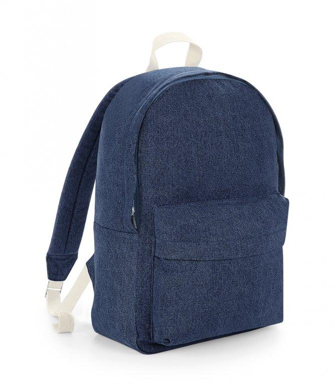Image 1 of BagBase Denim Backpack