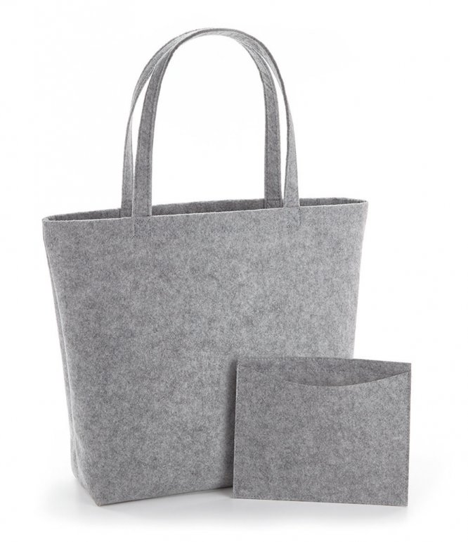 Image 1 of BagBase Felt Shopper