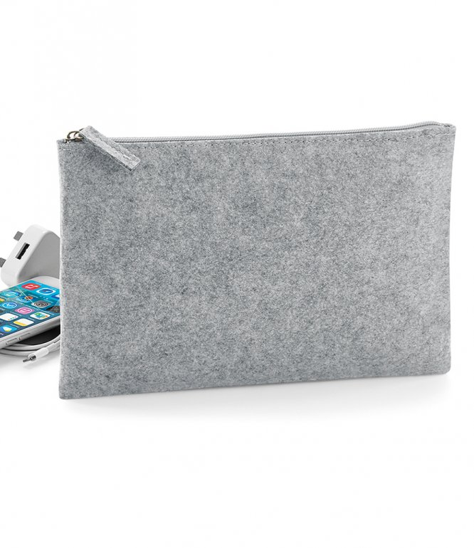 Image 1 of BagBase Felt Accessory Pouch