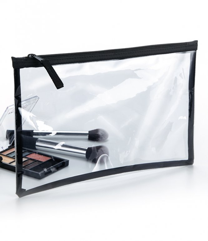 Image 1 of BagBase Clear Grab Pouch