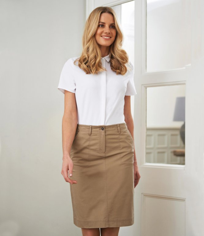 Image 1 of Brook Taverner Ladies Austin Chino Skirt