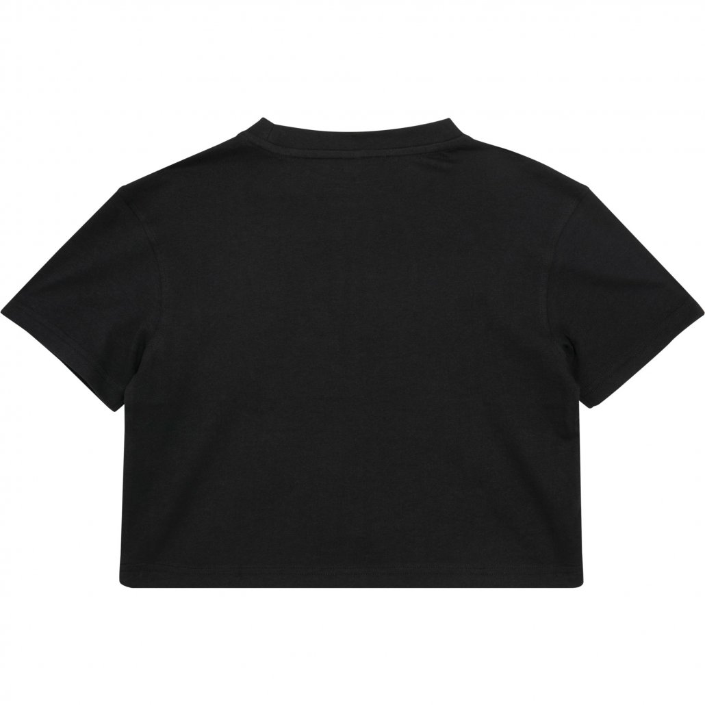 Image 1 of Girls cropped Jersey tee