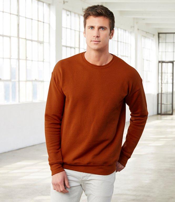 Image 1 of Canvas Unisex Drop Shoulder Sweatshirt