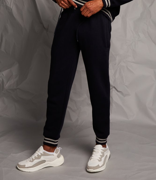 Image 1 of Front Row Unisex Striped Cuff Joggers