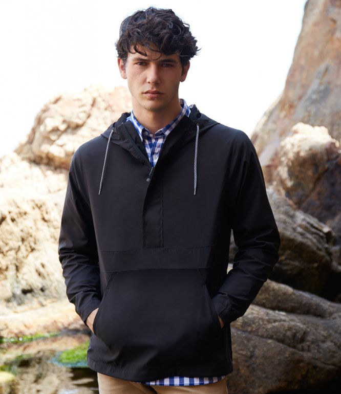 Image 1 of Front Row Pullover 1/2 Zip Jacket