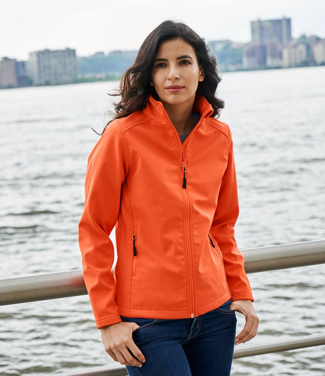 Image 1 of Gildan Hammer Ladies Soft Shell Jacket