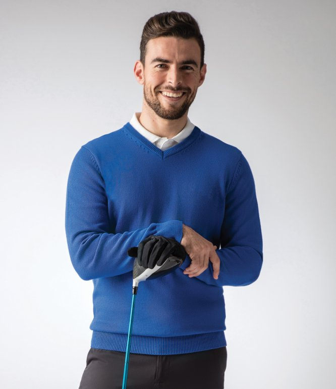 Image 1 of Glenmuir Touch of Cashmere V Neck Sweater