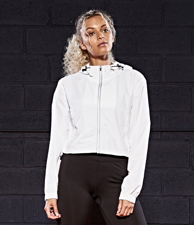 Image 1 of AWDis Cool Girlie Cropped Windshield Jacket