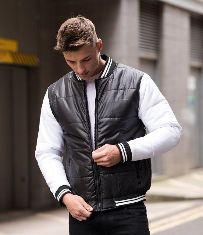 Image 1 of AWDis Varsity Puffer Jacket
