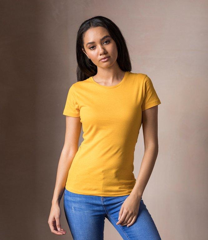 Image 1 of AWDis The 100 Girlie T-Shirt