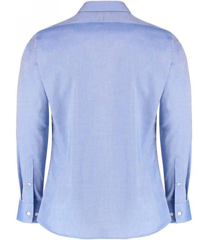 Image 1 of Clayton and Ford Long Sleeve Contrast Tailored Oxford Shirt