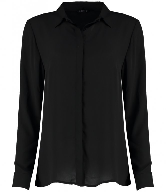 Image 1 of Clayton and Ford Ladies Long Sleeve Regular Fit Soft Shirt