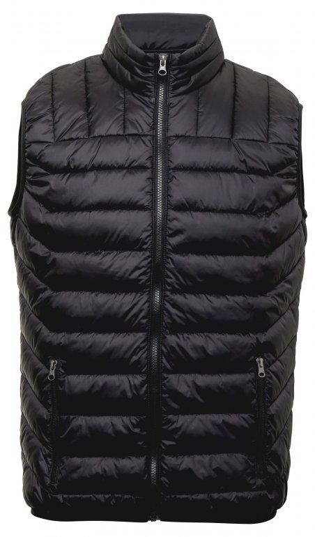 Image 1 of Domain two-tone gilet