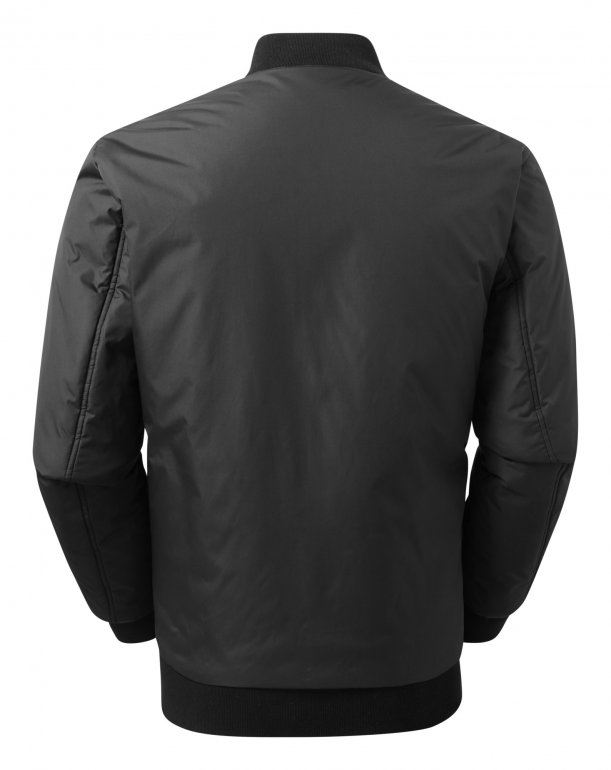 Image 1 of Delta plain bomber jacket