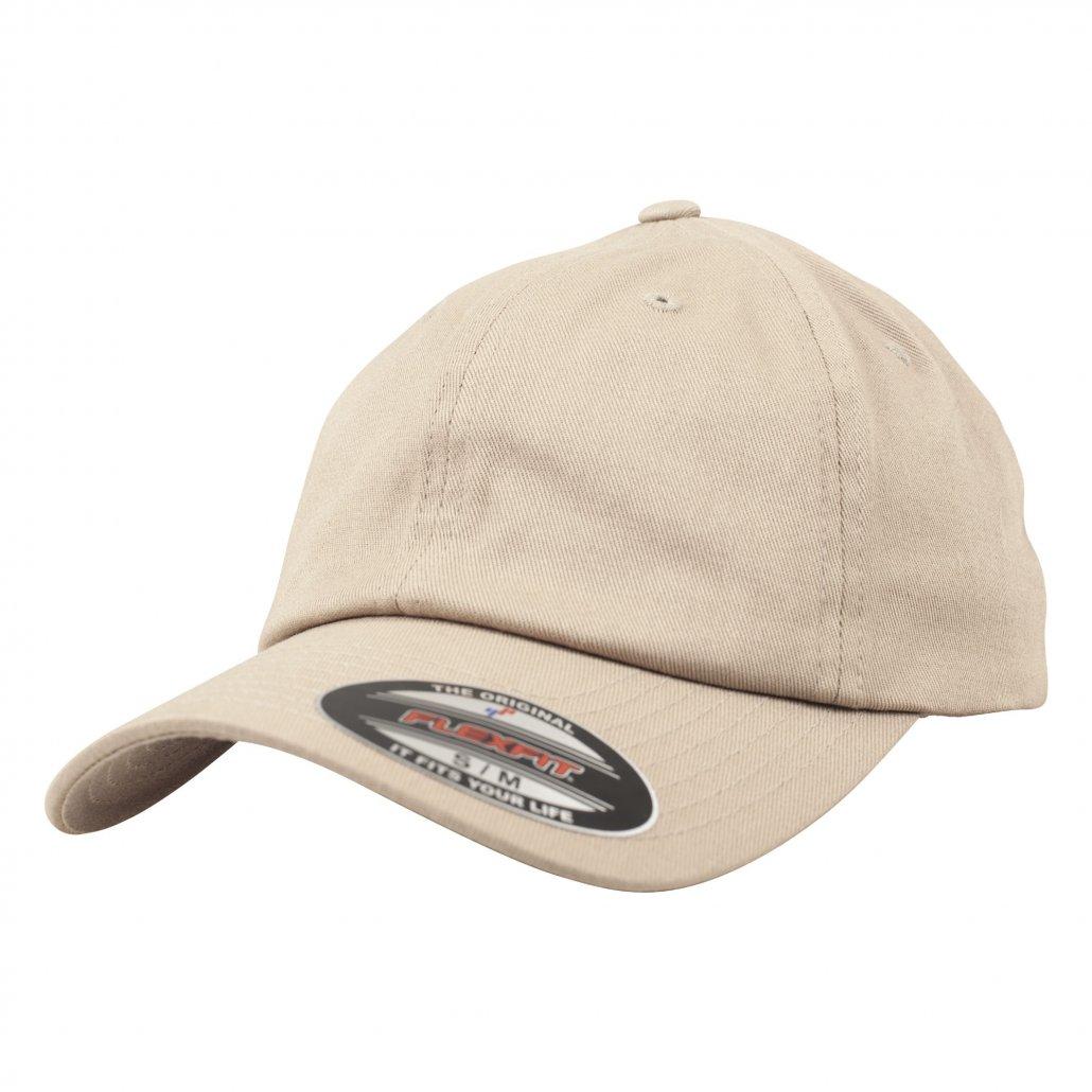 Image 1 of Flexfit cotton twill dad cap (6745)