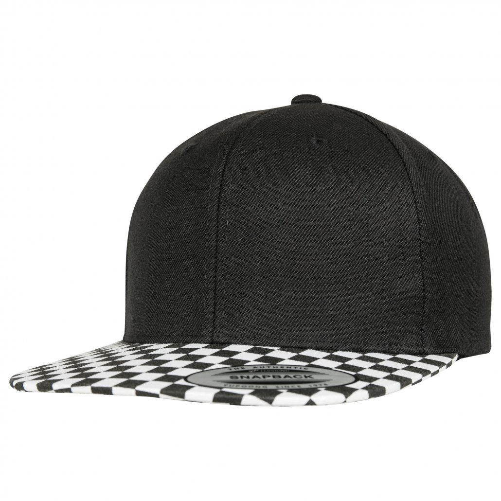 Image 1 of Checkerboard snapback (6089CB)