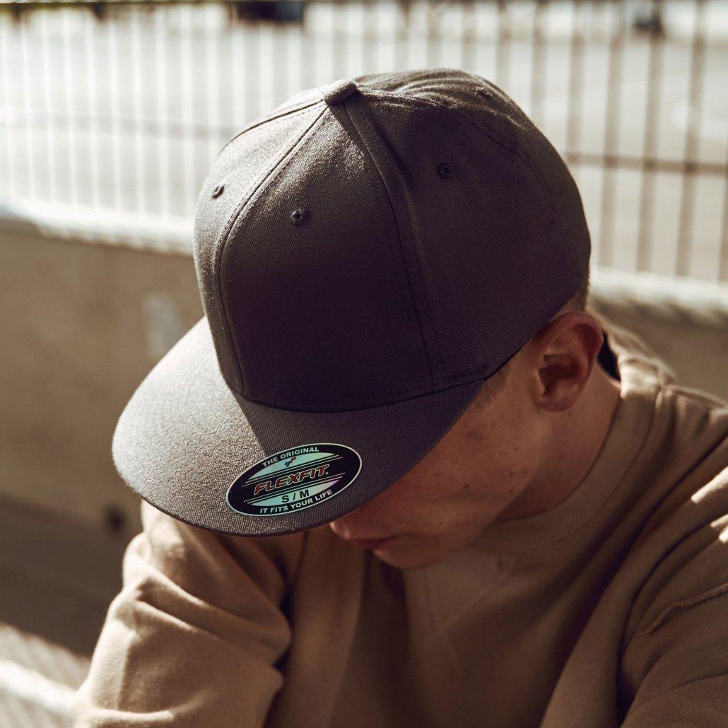 Image 1 of Flexfit flat visor (6277FV)