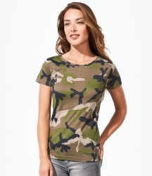 SOL'S Ladies Camo T-Shirt image