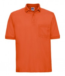 Russell Heavy Duty Piqué Polo Shirt image