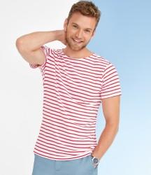 SOL'S Miles Stripe T-Shirt image