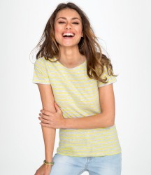 SOL'S Ladies Miles Striped T-Shirt image