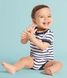SOL'S Miles Striped Baby Bodysuit image
