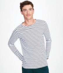 SOL'S Marine Long Sleeve Striped T-Shirt image