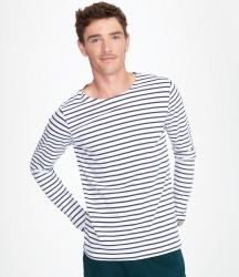 SOL'S Marine Long Sleeve Stripe T-Shirt image