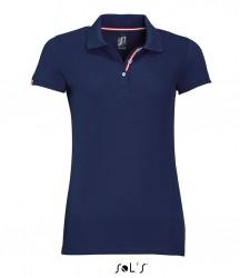 SOL'S Ladies Patriot Cotton Piqué Polo Shirt image