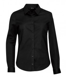 SOL'S Ladies Blake Long Sleeve Stretch Poplin Shirt image