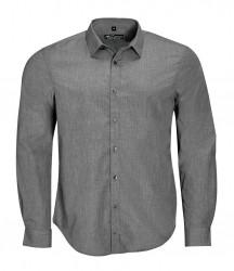 SOL'S Barnet Long Sleeve Heather Poplin Shirt image